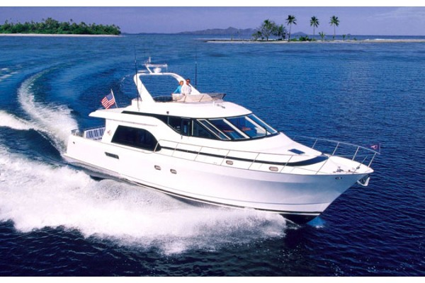 "59' QUEENSHIP 56 ADMIRALTY PILOTHOUSE (1998) ""CALYPSO"" *LLC*"