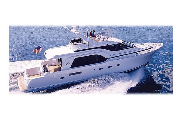 70' QUEENSHIP 68 EXTENDED AFT COCKPIT PILOTHOUSE (2000) OFF MARKET