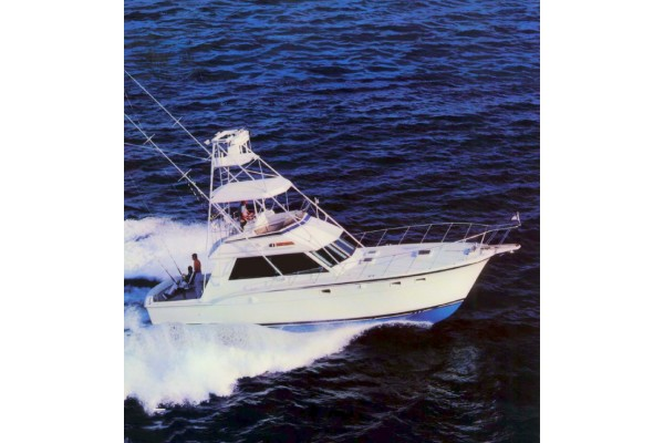 "45' HATTERAS 45 CONVERTIBLE SPORTFISHER (1989) ""INEVITABLE"""