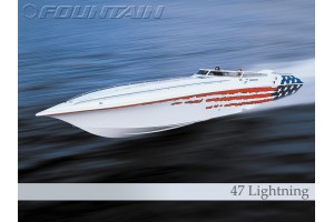 2004 47' FOUNTAIN 47 LIGHTNING YACHT for sale in Marina Del
