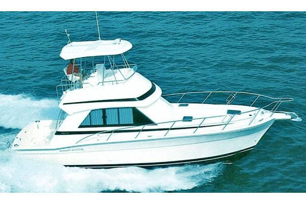 "36' RIVIERA 36 CONVERTIBLE (2000) ""ALL ABOUT TIME"""