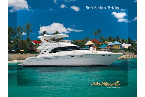 "56' SEA RAY 560 SEDAN BRIDGE (2001) *LLC* ""NO X-PECTATIONS"""