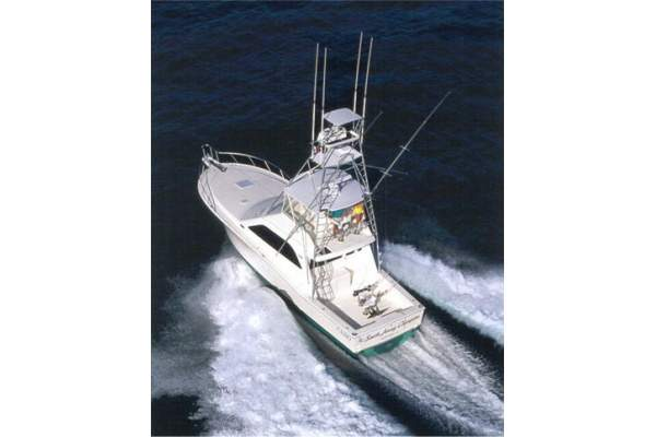 47' CABO 47 FLYBRIDGE (2001) *LLC*
