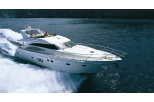 "70' VIKING PRINCESS SPORT CRUISER (21M) (2006) ""KRISTINA 8"" *LLC*"