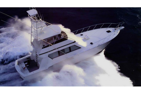 "58' HATTERAS 58 CONVERTIBLE (1990) ""SPARE CHANGE"""
