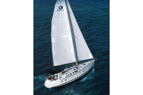 """46' HUNTER 466 (2004) """"THE GUEST HOUSE"""" OFF MARKET"""