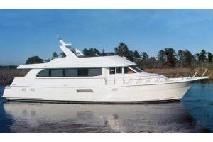 "75' HATTERAS 75 COCKPIT MOTORYACHT (2001) ""NO LIMITS"" *LLC*"
