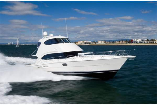 58' RIVIERA 58 ENCLOSED BRIDGE (2009) OFF MARKET