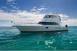 "58' RIVIERA 58 ENCLOSED BRIDGE (2009) ""KING'S RANSOM III"" *LLC*"