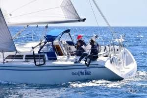 "32' CATALINA 320 SAILBOAT CHARTER ""OUT OF THE BLUE"