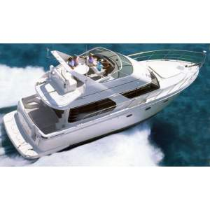 "45' CARVER 450 VOYAGER PILOTHOUSE (1999) ""IRISH SOUL"""