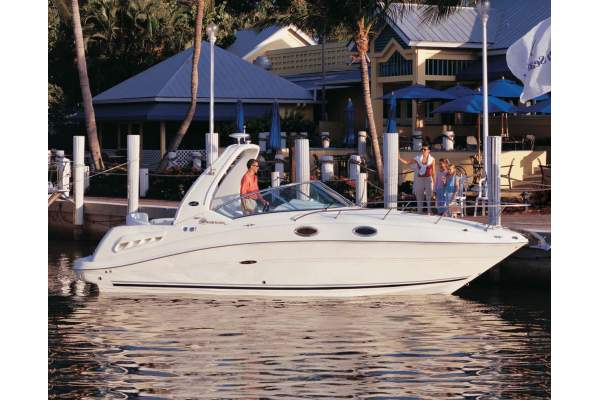 26' SEA RAY 260 SUNDANCER (2005) OFF MARKET