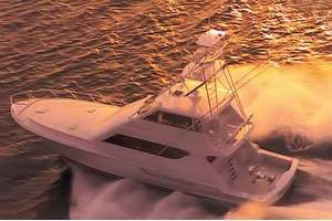 "65' HATTERAS 65 CONVERTIBLE ENCLOSED BRIDGE (2001) ""COVER GIRL"""