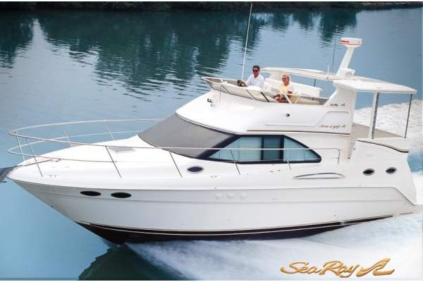 "38' SEA RAY 380 AFT CABIN (1999) ""MINDY Q"" OFF MARKET"