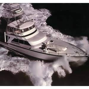 "70' STRIKER 70 ENCLOSED FLYBRIDGE SPORTFISHER (1983) ""DECADENT"""