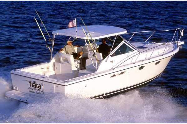 """31' TIARA 31 OPEN LIMITED EDITION (2003) """"LADY J"""" OFF MARKET"""