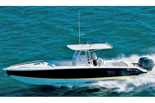 "35' JEFFERSON MARLAGO FS35 CUDDY (2004) ""FAN TAIL"""