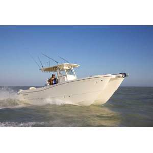 "29' WORLD CAT 295CC (2015) ""PELAGIC KRYPTONITE"""