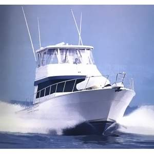 54' MEDITERRANEAN 54 ENCLOSED BRIDGE (2005)