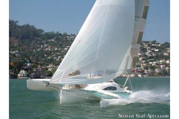 24' CORSAIR TRIMARAN (2006) OFF MARKET
