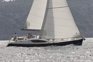 "50' JEANNEAU SUN ODYSSEY 50DS DECK SALON (2009) ""ASPIRE"""