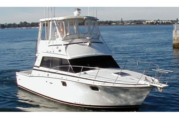 "38' BERTRAM 38 CONVERTIBLE SPORTFISHER (1984) ""HOOK IT UP"""