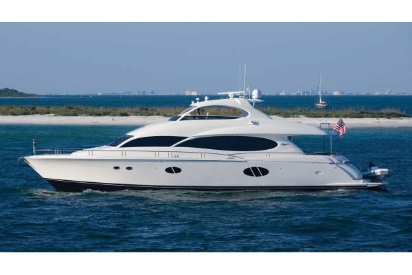 "84' LAZZARA 84 FLYBRIDGE (2006) ""NO RULES"""