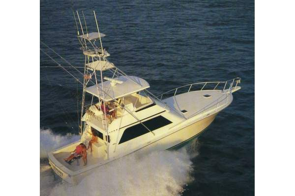 "50' VIKING 50 CONVERTIBLE (1991) ""TOO MUCH"""