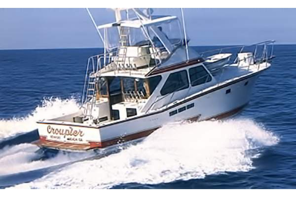 "44' PACIFICA 44 CONVERTIBLE (1987) ""REEL CONTENDER"""