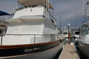 "42' CALIFORNIAN 42 LRC (1977) ""GYPSY MOON"""