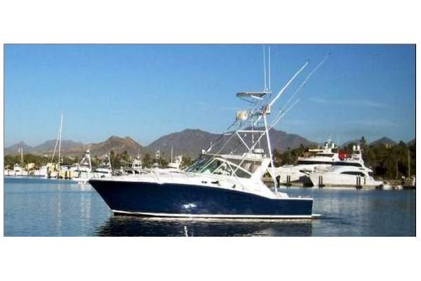 """45' CABO 45 EXPRESS (1999) """"BAD TO THE BONE"""" OFF MARKET"""