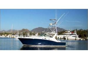 """45' CABO 45 EXPRESS (1999) """"BAD TO THE BONE"""""""