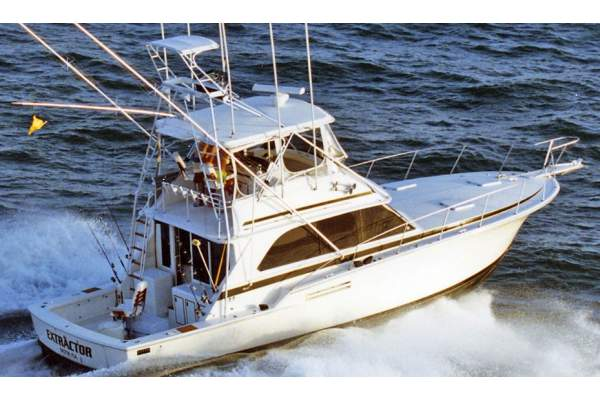 "46' BERTRAM 46 CONVERTIBLE SPORTFISHER (1977) ""SCOUNDREL"""