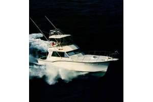 """46' HATTERAS 46 CONVERTIBLE (1982) """"OFF THE LINKS"""""""
