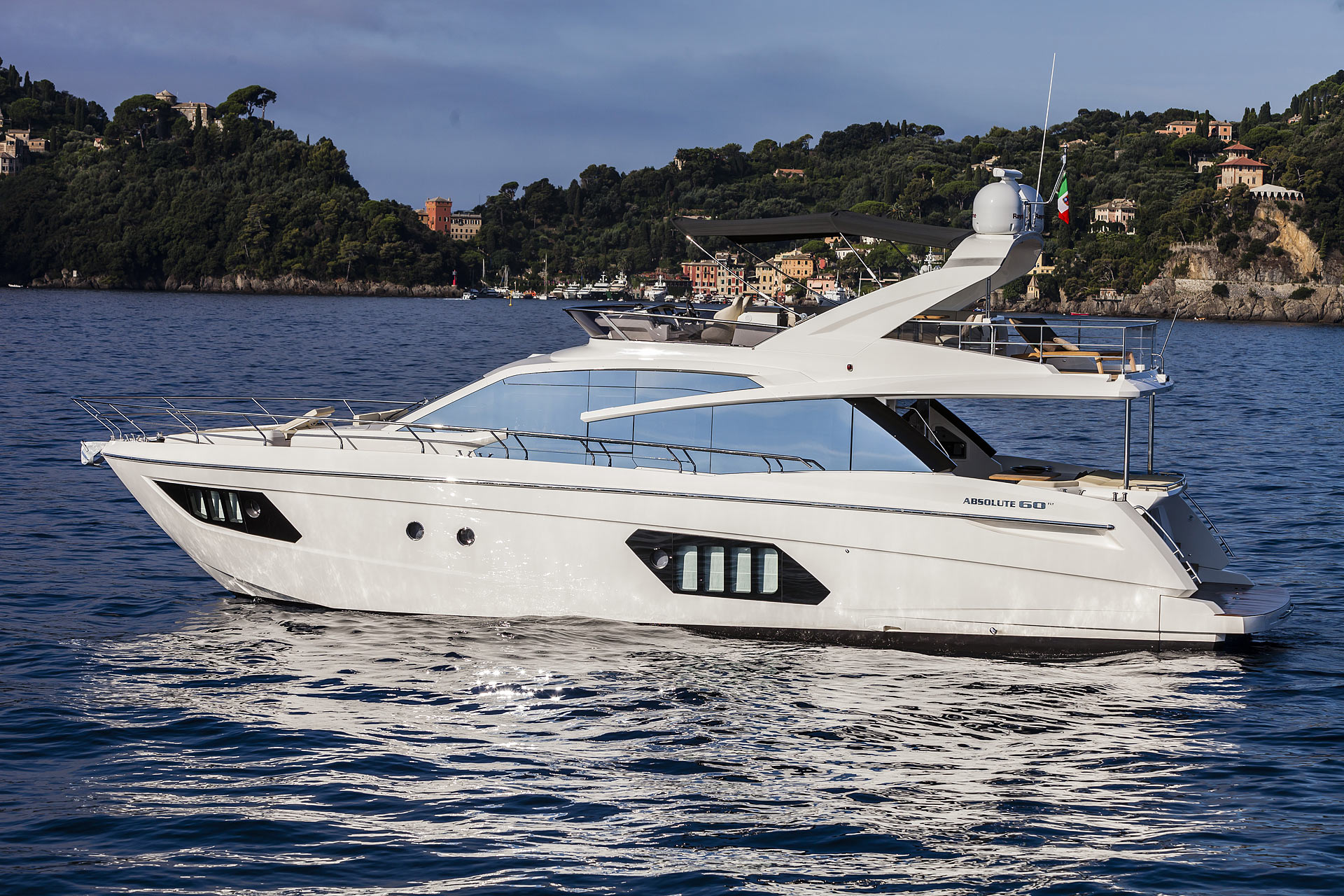 Absolute 60 Fly Luxury Yacht Partial Ownership for sale in Newport Beach