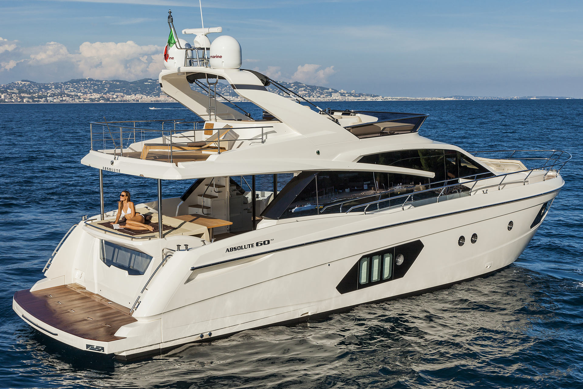 Absolute 60 Fly Luxury Yacht Fractional Ownership for sale in Newport Beach