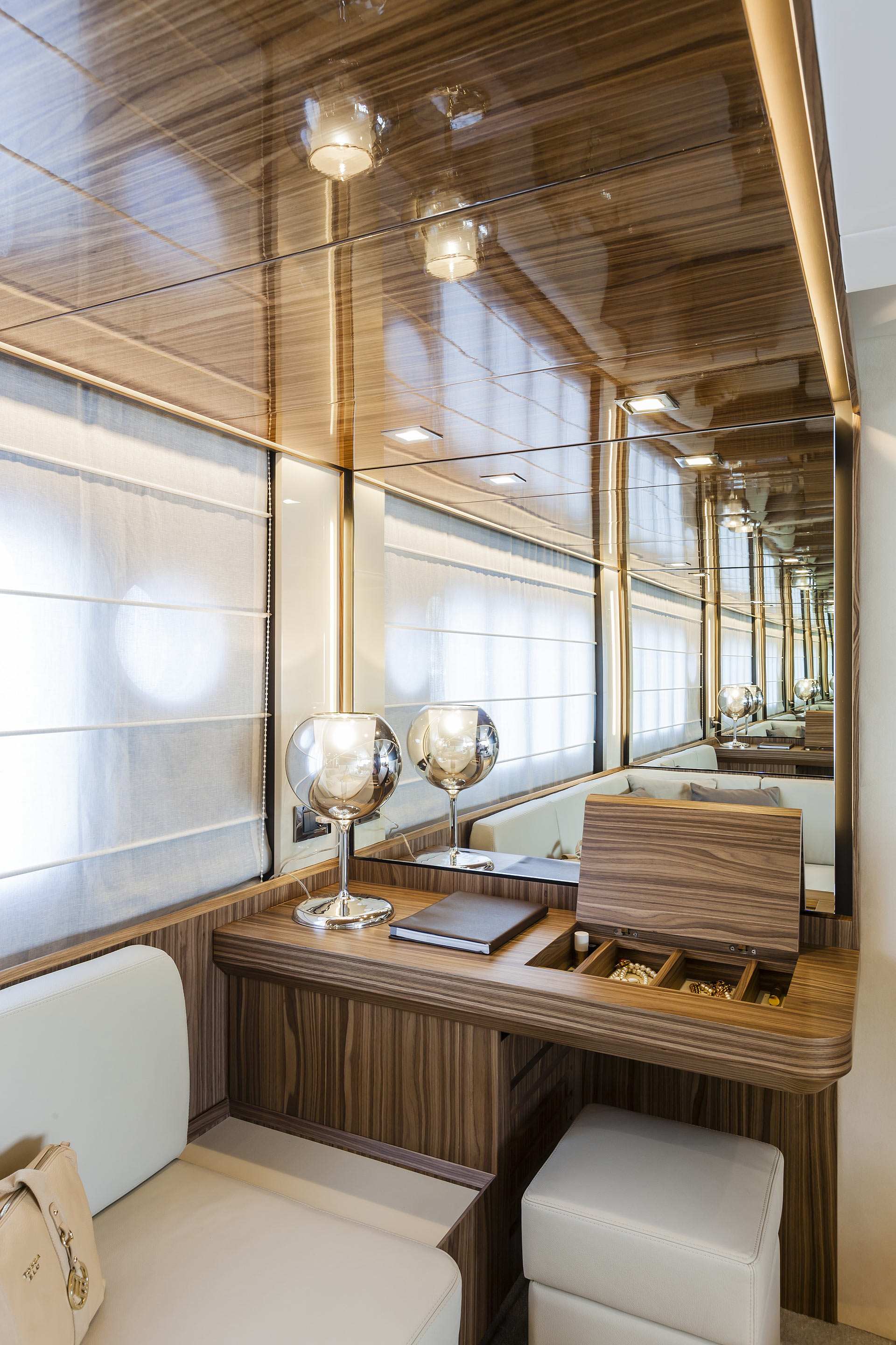 Absolute 60 Fly Luxury Yacht Vanity Mirror