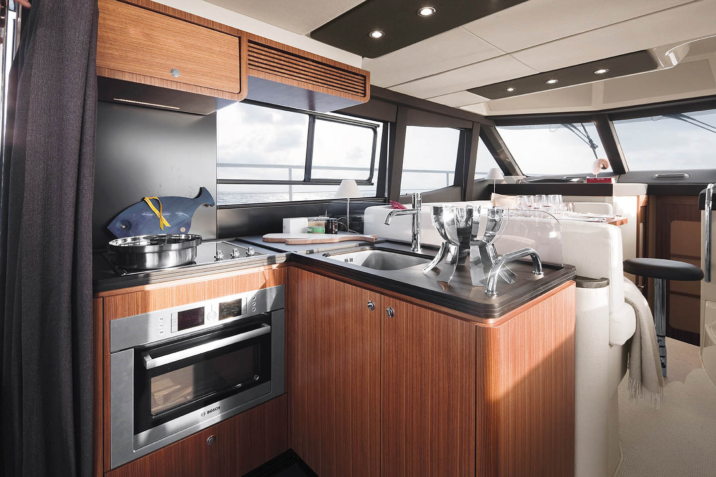 Azimut 43 Magellano Galley Kitchen