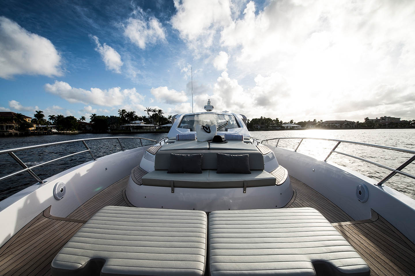 Azimut 40 Verve Luxury Yacht Bow Cushion