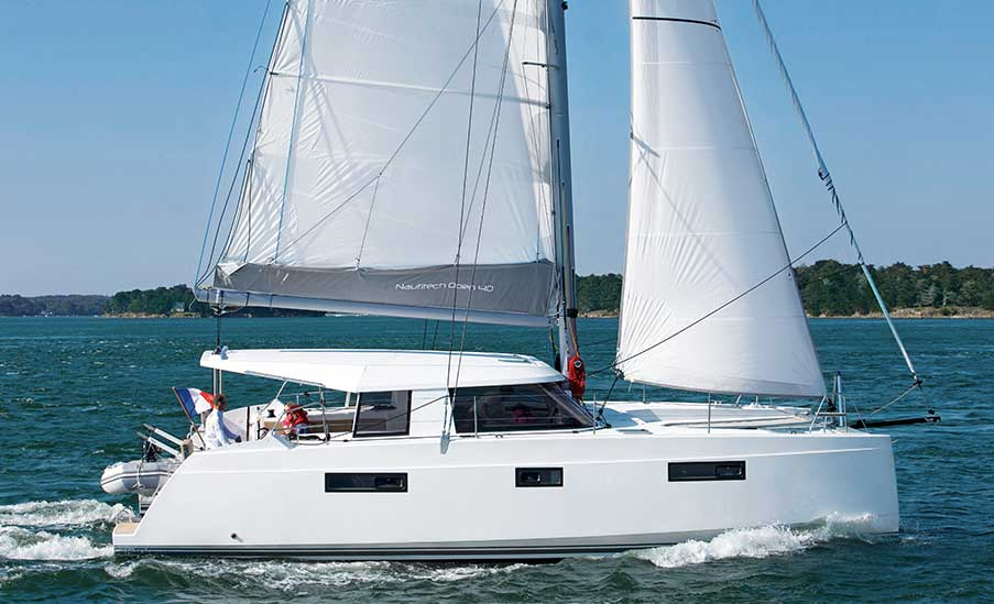 Nautitech Open 40 Catamaran for sale