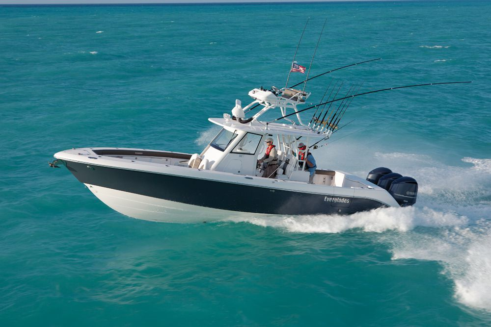 Everglades 355T fishing boat for sale