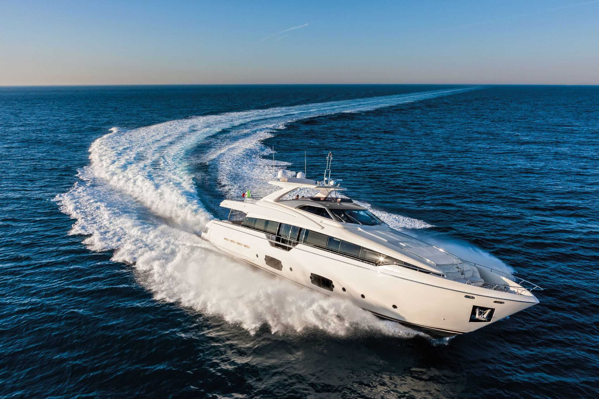 2016 Ferretti Yachts 960 Luxury Yacht for sale