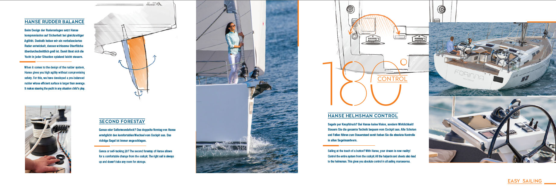 Hanse 588 Luxury Sailboat Rigging