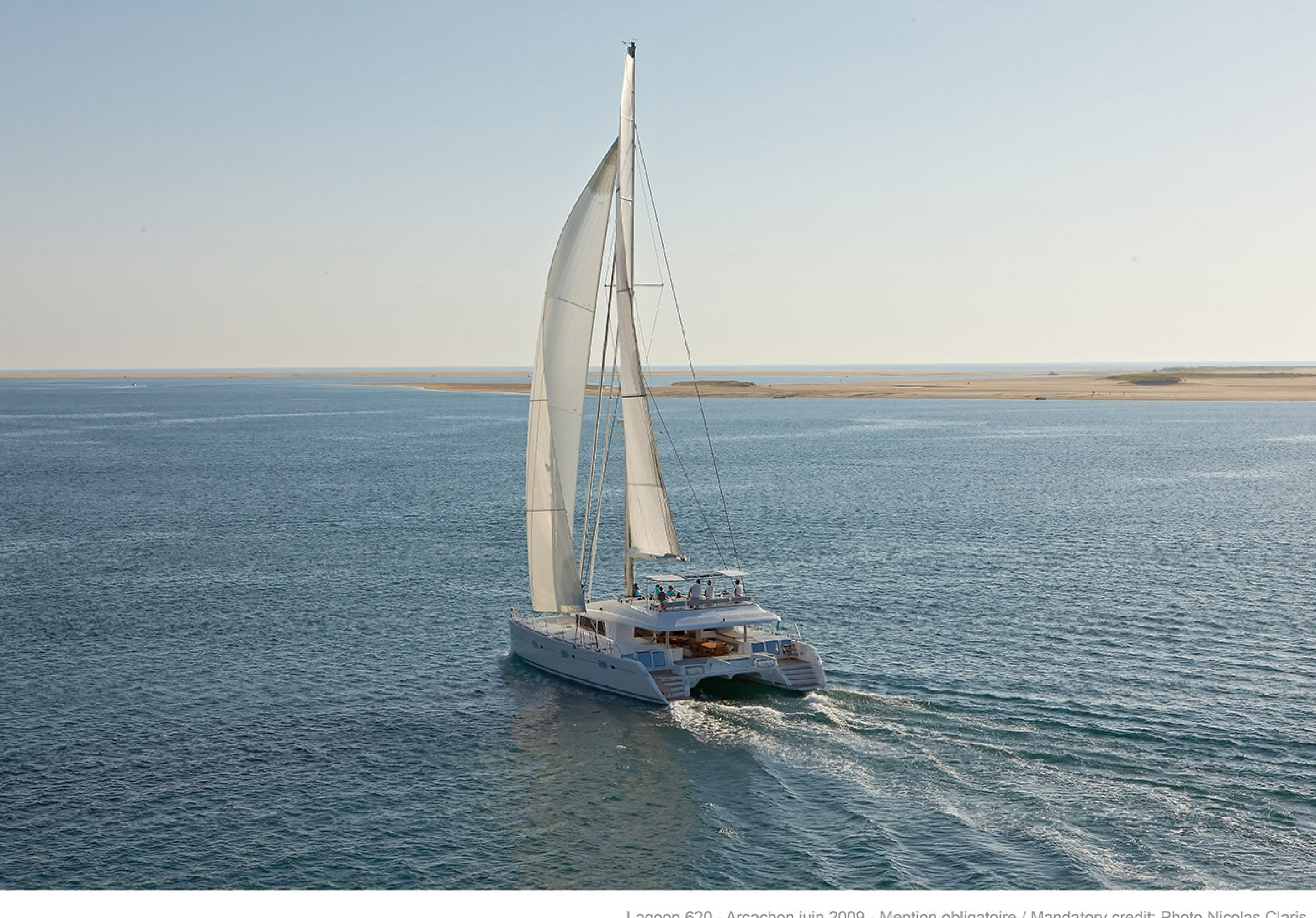 Lagoon 620 Catamaran at Sea