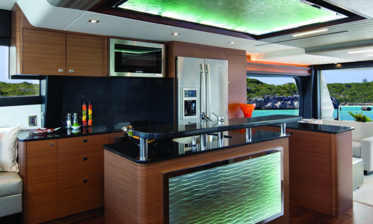 Ocean Alexander 70e Interior Galley