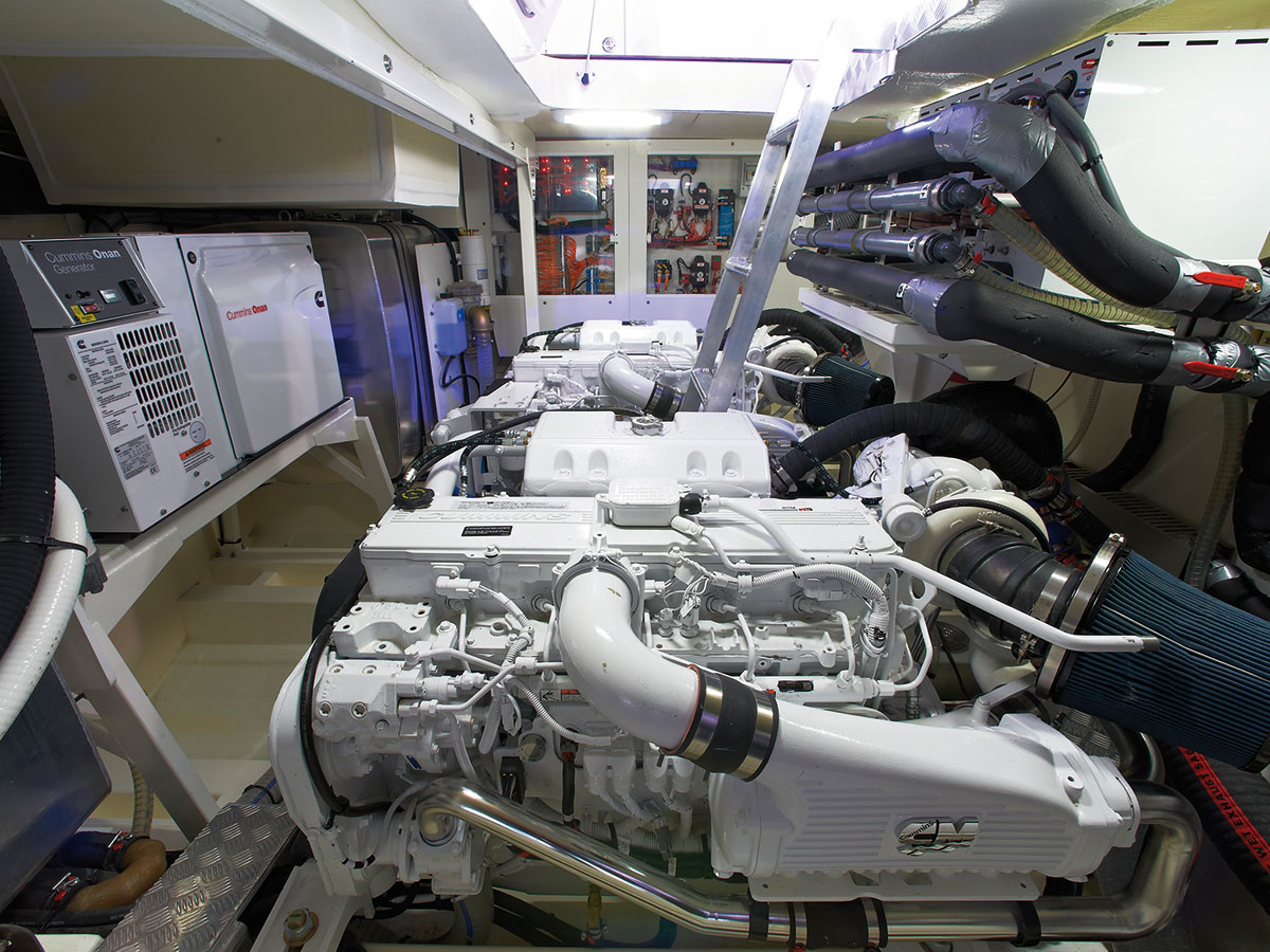 2015 Prestige 550 Fly Diesel Engines