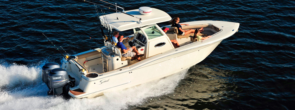 2015 Scout 275 LXF Center Console boat for sale
