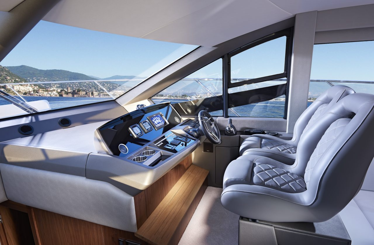 Sunseeker Manhattan 52 Helm