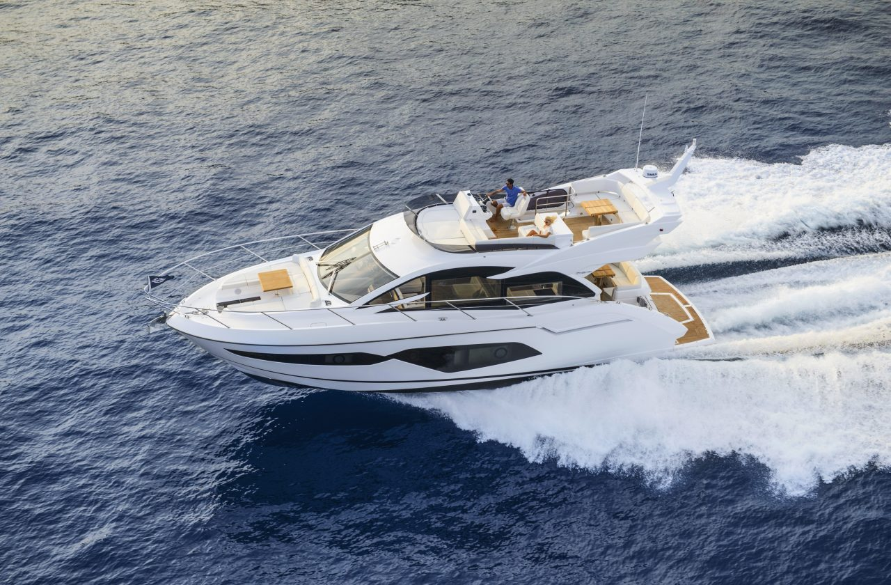 Sunseeker Manhattan 52 Running