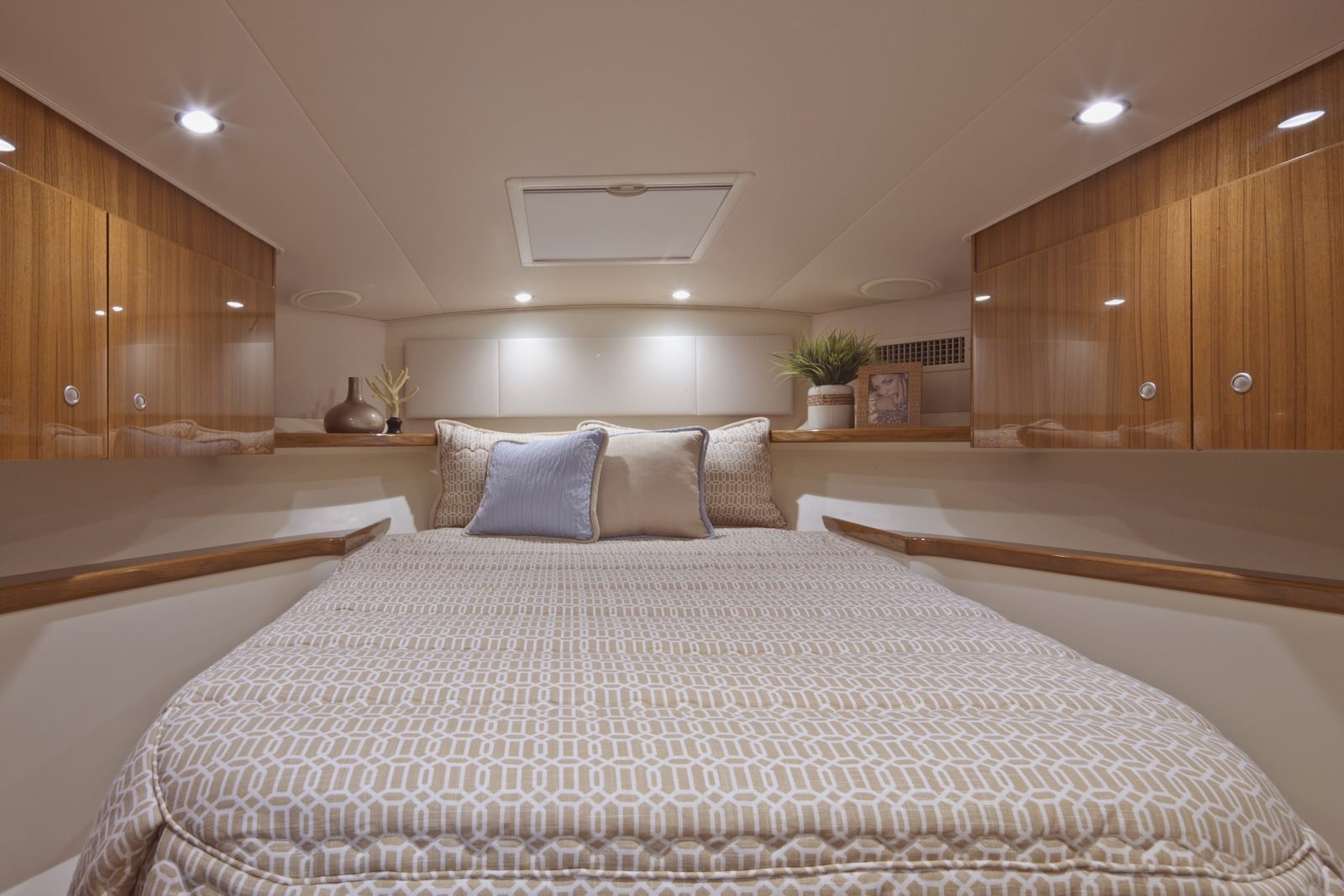 Viking 42 Sport Tower Yacht Master Stateroom